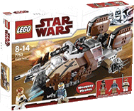Схемы и инструкции Lego Star Wars - Pirate Tank (Пиратский танк) - Lego 7753
