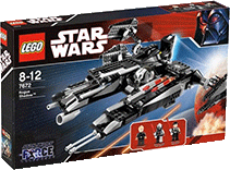 Схемы и инструкции Lego Star Wars - Rogue Shadow (Неуловимый шпион) - Lego 7672