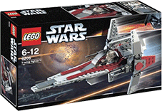 Схемы и инструкции Lego Star Wars - V-wing fighter (Истребитель V-wing) - Lego 6205