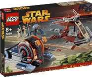 Схемы и инструкции Lego Star Wars - Wookiee Attack (Атака Вуки) - Lego 7258