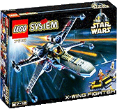 Схемы и инструкции Lego Star Wars - X-wing Fighter 1999г. - Lego 7140