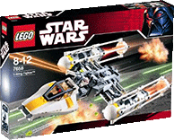 Схемы и инструкции Lego Star Wars - Y-wing Fighter (Истребитель с Y-крыльями) - Lego 7658