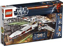 Схемы и инструкции LEGO Star Wars - X-Wing Starfighter (Истребитель X-Wing) - Lego Star Wars 9493