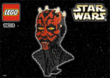 Схемы и инструкции Lego Star Wars (Exclusive) - Darth Maul (Дарт Мол) - Lego 10018