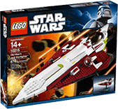 Схемы и инструкции LEGO Star Wars Exclusive - Obi-Wan's Jedi Starfighter (Звездный Истребитель Оби-Вана) - Lego 10215