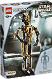Схемы и инструкции Lego Technic and Star Wars - C-3PO  (Дроид C-3PO) - Lego 8007