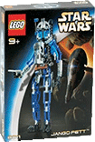 Схемы и инструкции Lego Technic and Star Wars - Jango Fett (Джанго Фетт) - Lego 8011