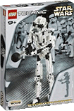 Схемы и инструкции Lego Technic and Star Wars - Stormtrooper (Дроид-штурмовик) - Lego 8008