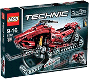 Схемы и инструкции LEGO Technic - Snowmobile (Снегоход) - Lego 8272
